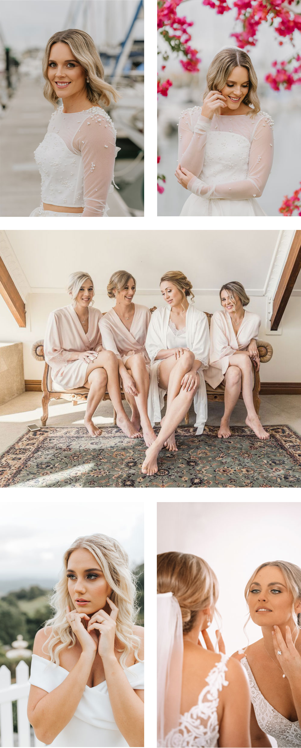 Louise-Henzell-Wedding-Collection-natural-beauty_bride-and-bridesmaids-web